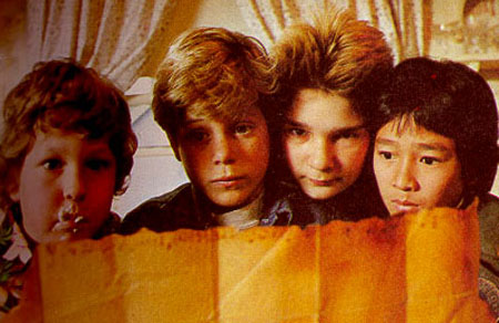 The Goonies wolpeyper called goonies