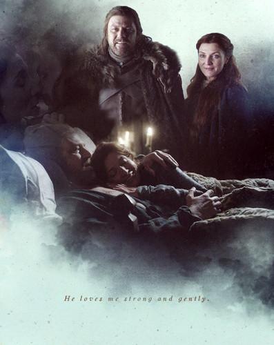 Catelyn & Ned