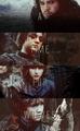 Jon, Arya, Bran & Rickon