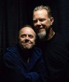 james &amp; lars - metallica photo