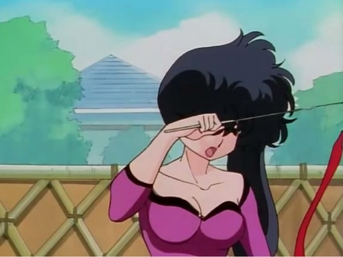 Ranma 1/2 wallpaper possibly with a chainlink fence and Anime titled kodachi
