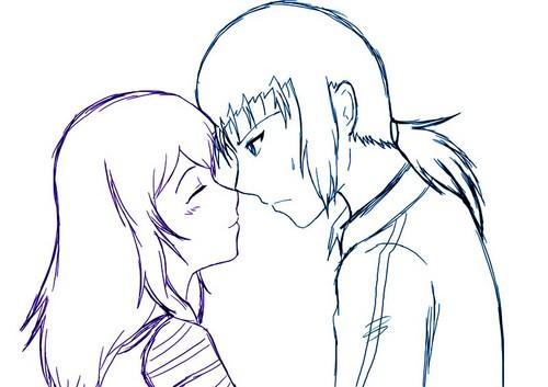 kozumi rubbed noses