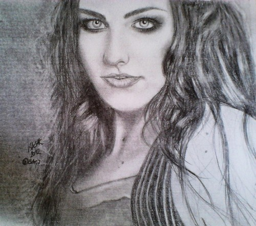 my Amy Lee drawings