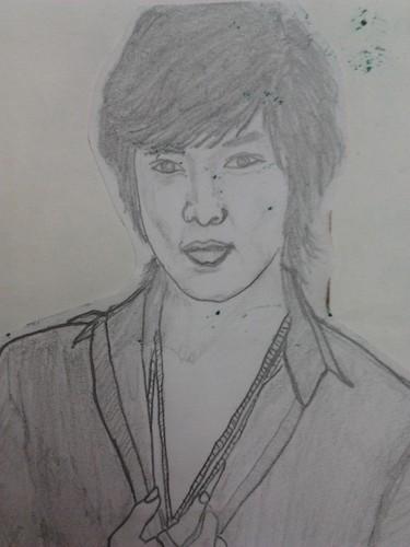 my sketch of Lee Min Ho