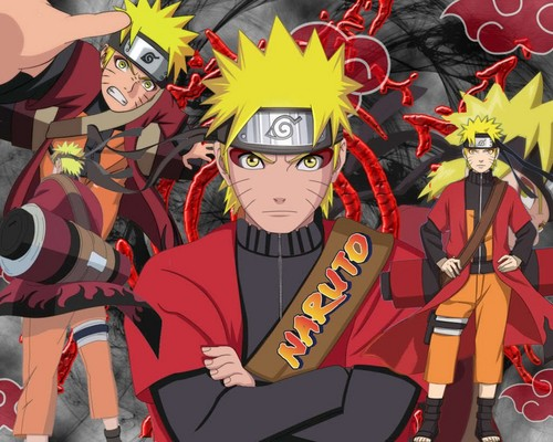 naruto in sage mode!