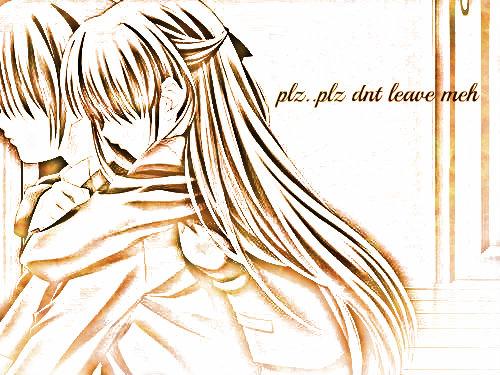 plz dnt leave me.. i.. i Любовь Ты