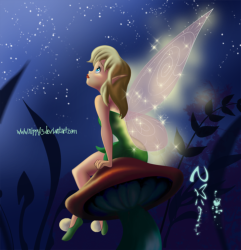 Tinkerbell پیپر وال entitled tinkerbell