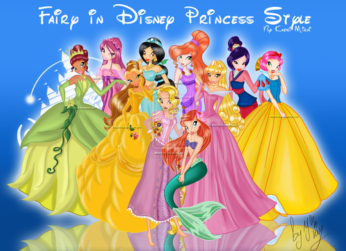 o clube das winx wallpaper entitled winx disney princess