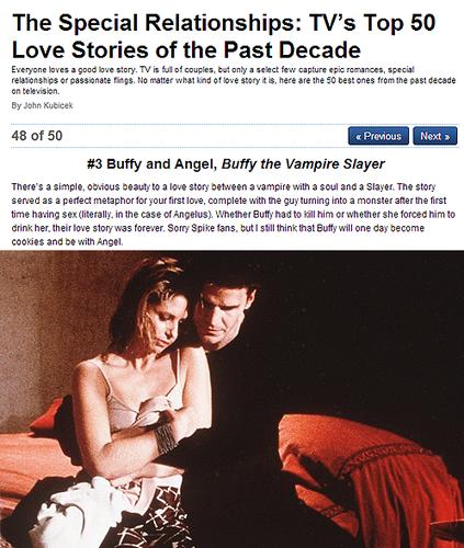 ➞ #3 | Buffy&Angel