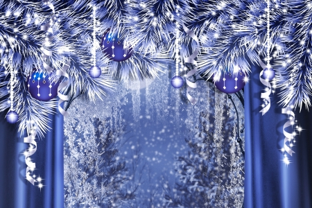 Christmas images ☆ Blue Christmas ☆ wallpaper and background ...