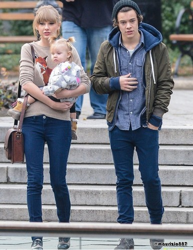 Harry Styles & Taylor matulin NYC, 2012