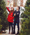  Ian &amp; nina  - ian-somerhalder-and-nina-dobrev fan art