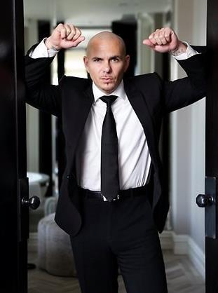 Pitbull (rapper) wallpaper containing a business suit, a suit, and a pinstripe titled ★ Pitbull ☆