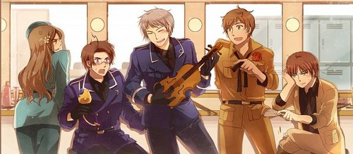 "~Prussia ""Plays"" The Violin~"