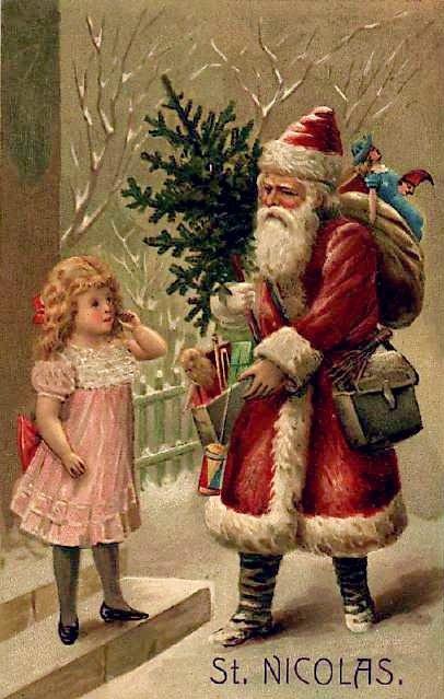 Christmas St Saint Nick Nicholas Peep