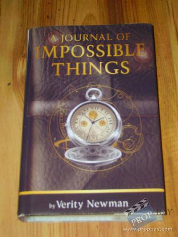 닥터 후 바탕화면 titled 'The Journal of Impossible Things'