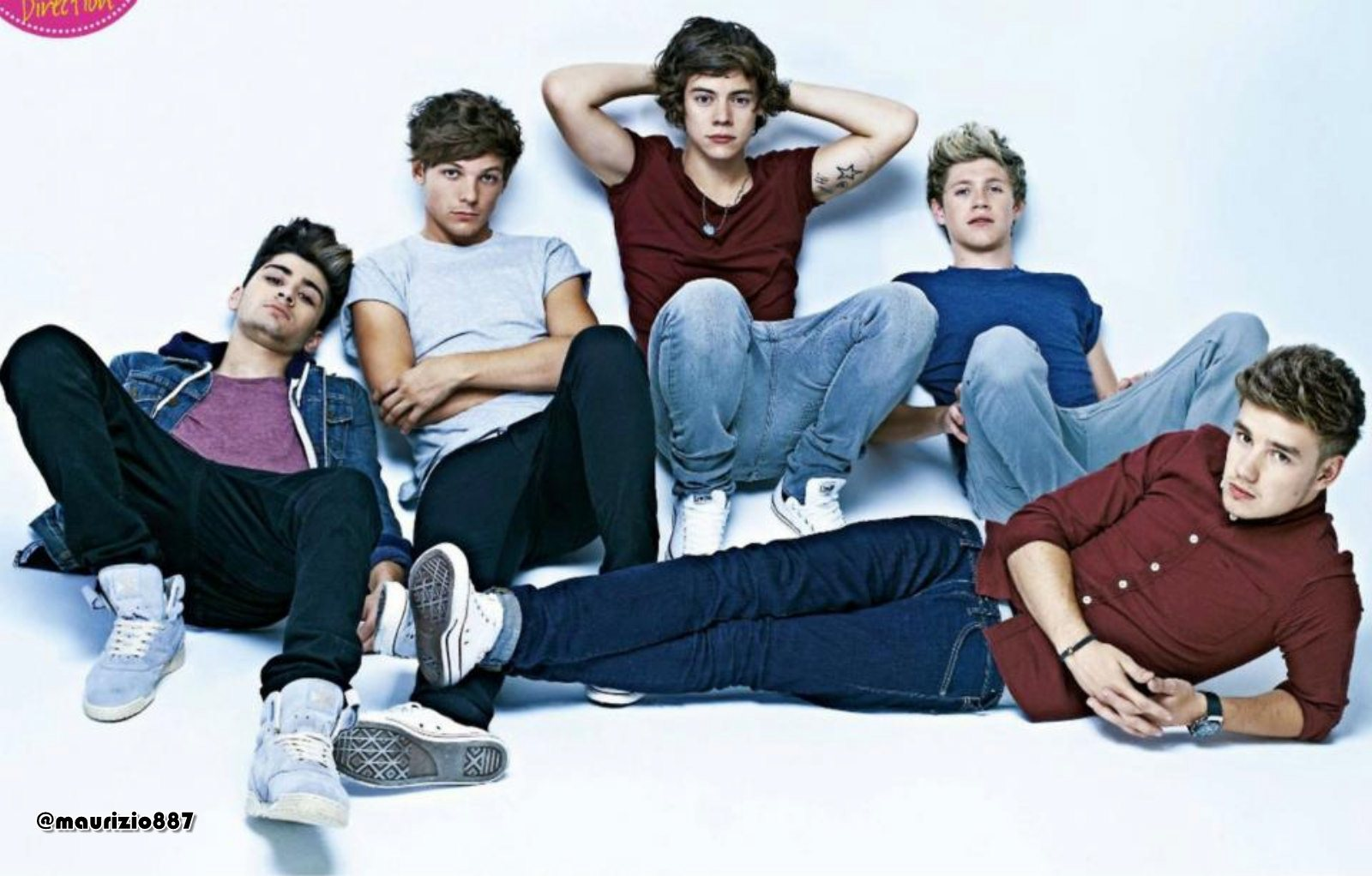 1D' photoshoots Teen Now Magazine, 2012