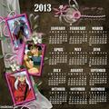 2013 calendar - inuyasha fan art