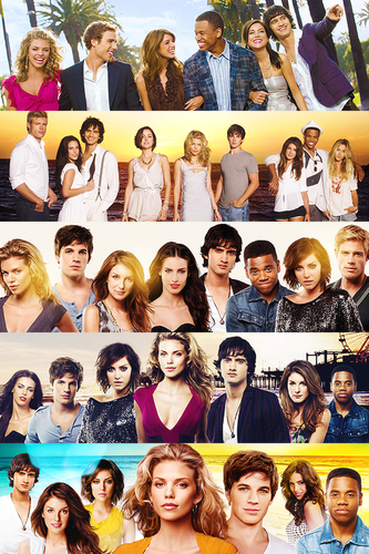 90210 cast over the years.