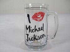 "A Vintage ""Michael Jackson"" cerveza Mug"