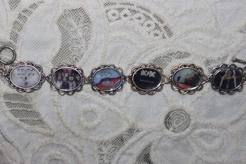 AC/DC Album Covers bracelet