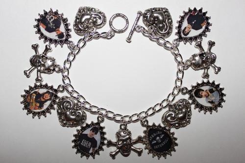 AVENGED SEVENFOLD A7X charm bracelet