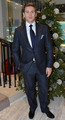 Allen Leech launches the Christmas season at Brown Thomas in London