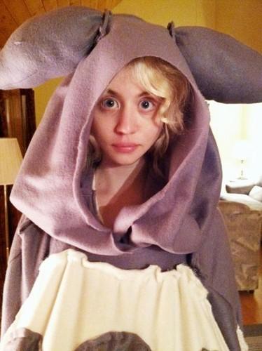 Allison Harvard halloween costume 2012
