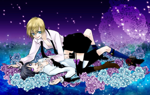 Kuroshitsuji wallpaper entitled Alois and Ciel