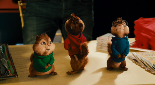 Alvin and the Chipmunks wallpaper titled Alvin Talking
