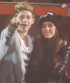 Amy and Niall