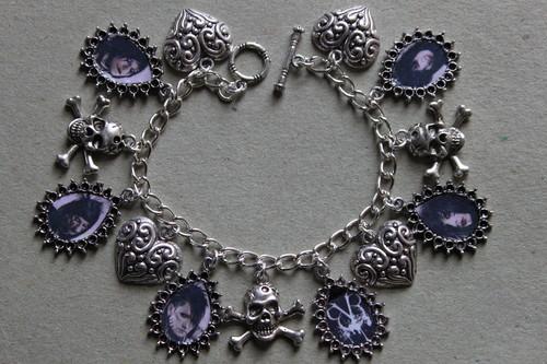 Andy Biersack Charm Bracelet