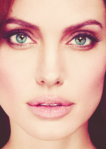 Angelina Jolie wallpaper containing a portrait called Angelina<3