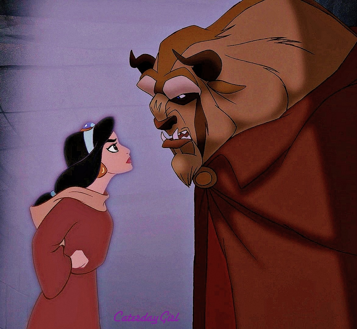 Beauty and the beast crossover disney-7971
