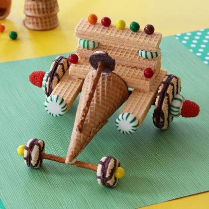 Anna's race car!!!!