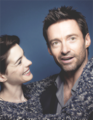 Anne Hathaway and Hugh Jackman  - hugh-jackman fan art