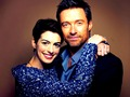 Anne Hathaway and Hugh Jackman - hugh-jackman wallpaper
