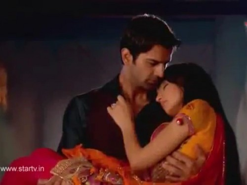 Iss Pyar Ko Kya Naam Doon wallpaper possibly with a portrait entitled Arnav & Khushi