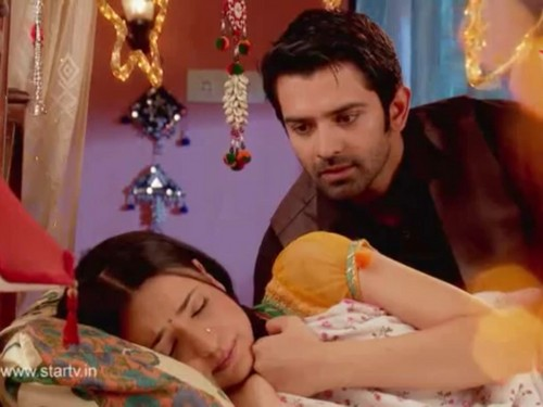Iss Pyar Ko Kya Naam Doon wallpaper probably with skin called Arnav and Khushi