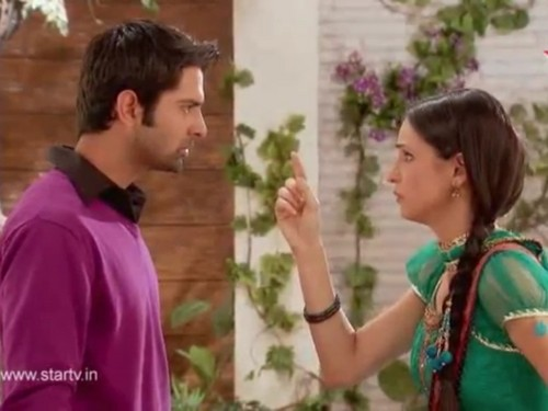 iss pyaar no kya naam doon fond d'écran entitled Arnav and Khushi