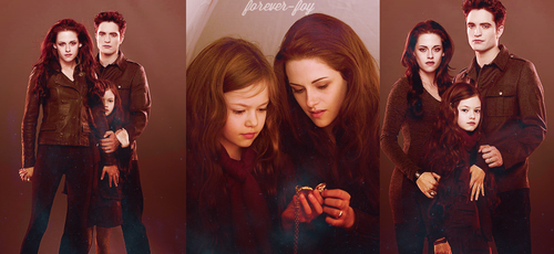 Twilight Breaking Dawn Part 2 Renesmee And Edward