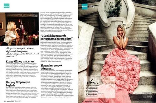 Bade İscil Istanbul Life magazine 2011