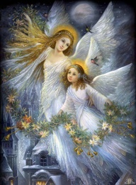 Beautiful Christmas Angels For My Angel Sister ❤
