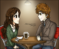 Bella and Edward - bella-swan fan art