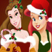 Belle and Ariels Christmas
