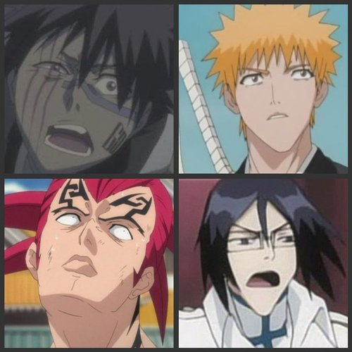 Bleach NICE faces