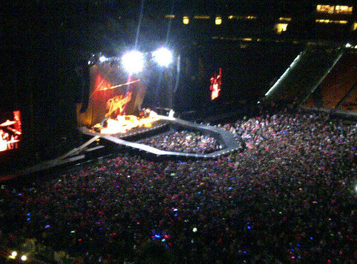 Born This Way Ball at Soccer City, Johannesburg (pre-show)