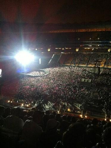 Born This Way Ball at Bola sepak City, Johannesburg (pre-show)