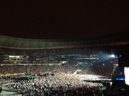 Born This Way Ball at サッカー City, Johannesburg (pre-show)