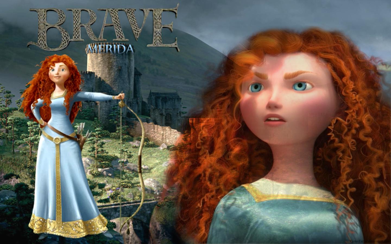 family merida Disney brave